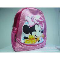 专业定制迪士尼卡通儿童书包 超可爱学生轻巧双肩书包加工