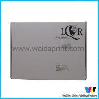 广东专业生产印刷工厂 供应内衣包装一片式瓦楞包装纸盒