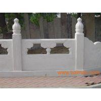 供应河堤石护栏、花池护栏、别墅护栏、阳台护栏
