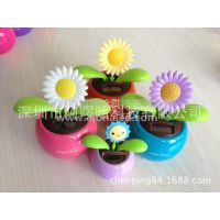 专业生产促销、强度摇摆装饰太阳能花、苹果花
