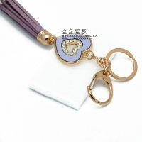 紫色神秘流苏 韩国 流苏创意钥匙扣 包链钥匙链 汽车钥匙挂件