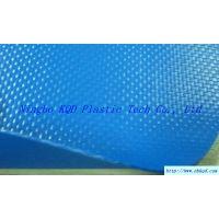供应1000D蓝色水池游泳池夹网布