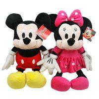 迪士尼米老鼠毛绒玩具 情侣米奇米妮公仔 情侣布娃娃玩偶婚庆可用