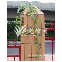可混批 西瓜叶(20条)吊藤 人造仿真花藤条 室内装饰藤条