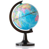 得力3032 地球仪14.2cm 新款高清 标准教学 经典中英地形
