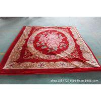 新款加厚拉舍尔3公斤二等毛毯冬季婚庆保暖毛毯批发
