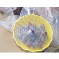 百分之三百拉升力保鲜膜,密封重复使用保鲜膜,硅胶食品级保鲜膜
