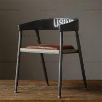 厂家直销 美式家具 铁艺椅子 餐桌椅 扶手椅 餐厅桌椅 批发