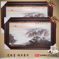 陶瓷瓷板画,装饰品陶瓷瓷板画厂家