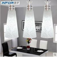 音浮光电灯具灯饰餐厅灯吊灯卧室灯三头