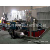 供应优质青岛胶州精科塑机PVC51/65/80锥双造粒挤出机