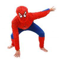 万圣节 儿童表演服-儿童超人 蝙蝠侠 套装 超级英雄 蜘蛛侠服装