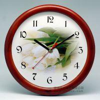 2013实木钟/木钟/实木工艺钟/wood clock/田园风格/小尺寸时钟