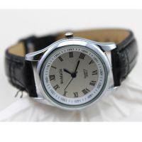 手表供应 2015款womage牌子皮革表带石英手表