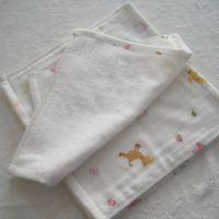 毛巾厂家直销纯竹纤维双层纱布婴儿方巾 儿童印花纱布方巾