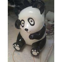 大熊猫雕塑厂|国宝熊猫雕塑厂|港粤熊猫雕塑|熊猫字画厂|熊猫雕塑模具造型|