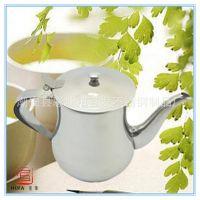 厂家直销厨房用品 无磁不锈钢长嘴茶水壶 多用调料安士壶