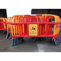 供应工厂直销华顺出口香港、澳门、马来西亚塑胶铁马、隔离栏、交通护栏、防护栏、道路交通设施