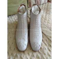 handmade goodyear welted dress leather boots
