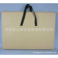 精品热销300克牛皮纸手提式纸文件袋 档案袋纸袋