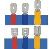 厂家供应公母预绝缘插头接线端子 线耳线鼻子冷压铜端子端头