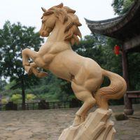 厂家热销 实木木制品雕花 手工雕刻动物图案 可来图来料来样
