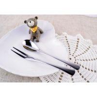 批发优质不锈钢餐具 不锈钢餐具厂 时尚新颖 咖啡厅餐具 高档酒店刀叉