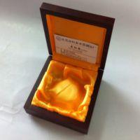高档木质首饰盒水晶珠宝首饰吊坠包装盒 挂件饰品礼品盒