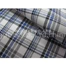 Competitive Price Yarn Dyed Twilling Plaid Cotton Wool Fabric with Liquid Ammonia Finish