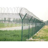 供应Y型柱钢筋护栏网 Y型柱蛇型刀刺隔离桩