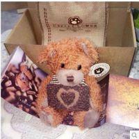 哥伦比亚咖啡熊 正品coffee bear咖啡健康熊 瘦身减肥蜘蛛侠小熊