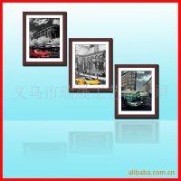 组合相框批发 相片墙厂家 带卡纸画心相框墙 照片定制
