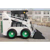 山东厂家直销650型滑移装载机 牧场田园机械 山东小吨位铲车