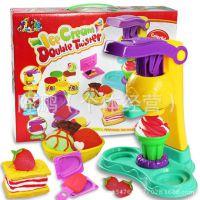 批发 儿童DIY彩泥 冰淇淋 冰激凌模具工具套装 儿童益智玩具