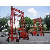 60吨集吊 吊车 能行走门架式集装箱吊车