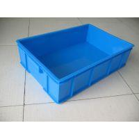 上海塑料周转箱 塑料周转筐厂家 白色PP塑料箱 蓝色物流箱