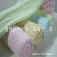 竹纤维毛巾竹纤维儿童卡通美容巾山东厂家批发代理洗脸巾手巾