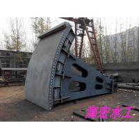 供应厂家直销 海宏QH 密封性好耐腐蚀 弧形钢闸门