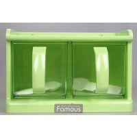 新陵两组抽式调味盒方便使用调味罐抽式带盖R2055批发
