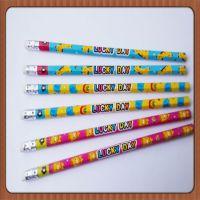 创意文具 可爱卡通活动铅笔 卡通迪士尼铅笔 带橡皮铅笔