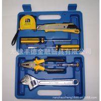 低价批发 五金工具组套(图)蓝壳8件套礼品工具套装 质优价廉