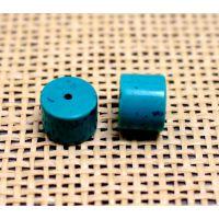 天然湖北绿松石9*12桶珠 DIY饰品配件 佛珠手链散珠