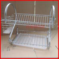 厨房用品新款多功能S型双层碗碟架/碗架批发/沥水碗架/厨房收纳架