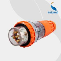 柳市厂销5P 10A工业电源插头 3P+N+E三相工业插头
