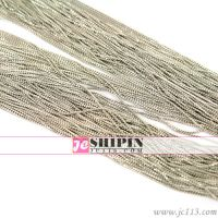 饰品配件 diy材料批发 135SER细铜链(铜镀白K)F1101-1
