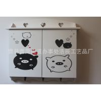 厂家直销~创意木质电表箱 卡通图案装饰 壁挂电表箱