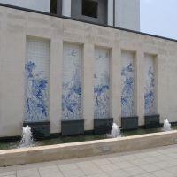 陶瓷厂家供应青花酒店 景观青花瓷片 景观装修 量大从优 青花瓷板