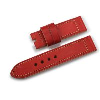 表带24mm 通用手表配件万国IWC适用 真皮手表带