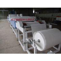 订做友威无纺布干燥机网带式电加热自动卷轴无纺布干燥机
