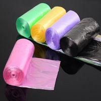 【伙拼】彩色垃圾袋厂家批发 一次性环保袋 点断 加厚连卷垃圾袋